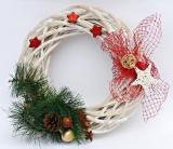Vánoční věnec-zdobený