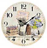 Nástěnné hodiny-gardening pleasures