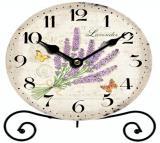 Stolní hodiny-lavender