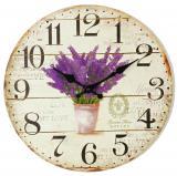 Nástěnné hodiny-botany