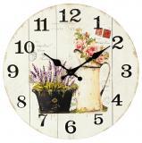 Nástěnné hodiny-růže