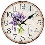 Nástěnné hodiny-lavandin