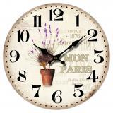 Nástěnné hodiny-Mon Paris