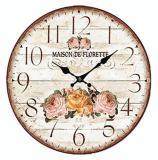 Nástěnné hodiny-maison de florette