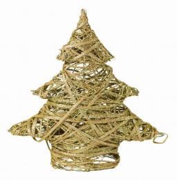 Vánoční stromek-zlatá - zvětšit obrázek