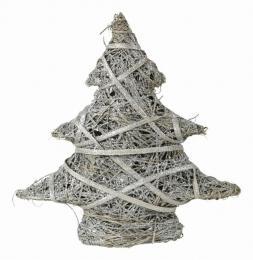 Vánoční stromek-stříbrná - zvětšit obrázek