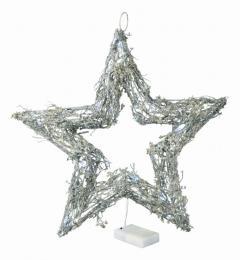 Vánoční hvězda-svítící - zvětšit obrázek