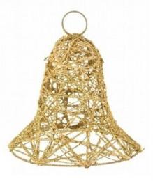 Vánoční zvonek-zlatá - zvětšit obrázek