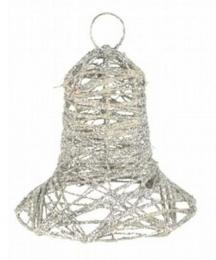 Vánoční zvonek-stříbrná - zvětšit obrázek