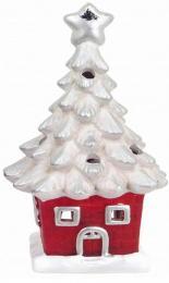 Vánoční svícen-domek - zvětšit obrázek