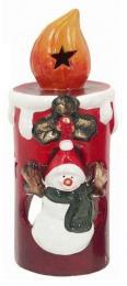 Vánoční svícen-svíčka - zvětšit obrázek
