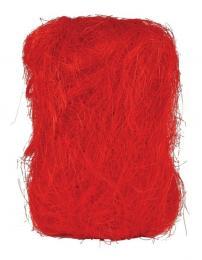 Dekorační sisál-červená - zvětšit obrázek