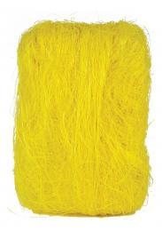 Dekorační sisál-žlutá - zvětšit obrázek
