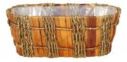 Truhlík z mořské trávy oválný - zvětšit obrázek