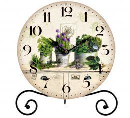 Stolní hodiny-zeleň - zvětšit obrázek