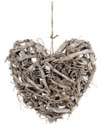 Srdce-řezané proutí - zvětšit obrázek