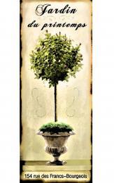 Obraz na plátně-jardin du printemps - zvětšit obrázek