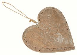 Dřevěné srdce - zvětšit obrázek