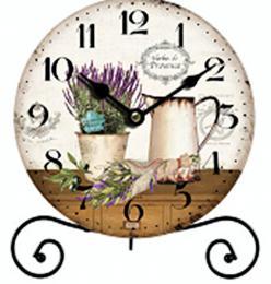 Stolní hodiny-levandule - zvětšit obrázek