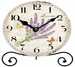 Stolní hodiny-lavender - zvětšit obrázek