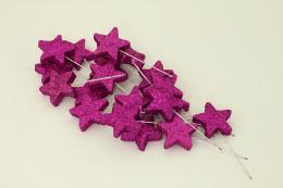 Vánoční hvězdička-fialová, 20ks - zvětšit obrázek