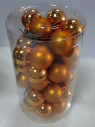 Vánoční skleněná koule-sv.měděná - zvětšit obrázek