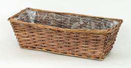 Proutěný truhlík hranatý - zvětšit obrázek