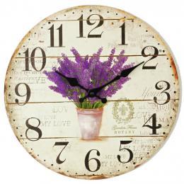 Nástěnné hodiny-botany - zvětšit obrázek