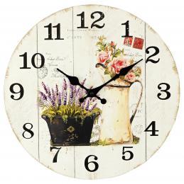 Nástěnné hodiny-růže - zvětšit obrázek