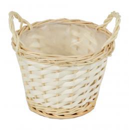 Proutěný košík-přírodní - zvětšit obrázek
