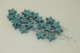 Vánoční hvězdička-modrá, 20ks - zvětšit obrázek