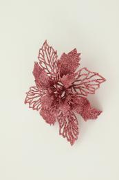 Vánoční květina-růžová - zvětšit obrázek