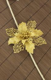 Vánoční květina-zlatá - zvětšit obrázek
