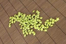 Vánoční hvězdička-zelená, 120ks - zvětšit obrázek