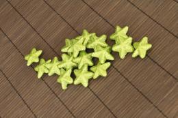 Vánoční hvězdička-zelená, 16ks - zvětšit obrázek