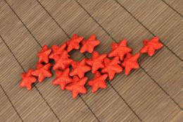 Vánoční hvězdička-červená, 16ks - zvětšit obrázek