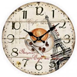 Nástěnné hodiny-cafe - zvětšit obrázek