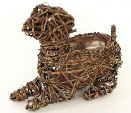 Proutěný obal-pes - zvětšit obrázek