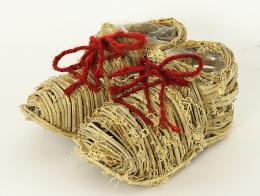 Proutěný obal-duo bota - zvětšit obrázek