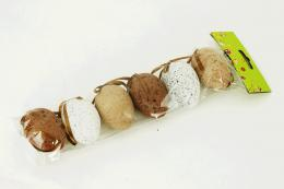 Plastová vejce-kropenatá, 6ks - zvětšit obrázek