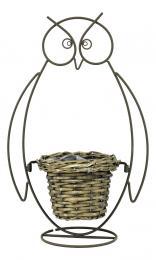 Proutěný obal-sova - zvětšit obrázek