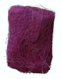 Dekorační sisál-tm. fialová - zvětšit obrázek