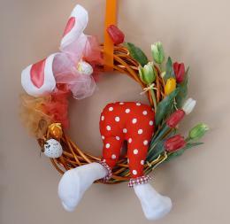 Velikonoční věnec - zvětšit obrázek