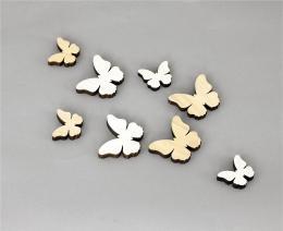 Motýlci dekorační, 8ks - zvětšit obrázek