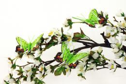 Dekorační motýlci, 12ks - zvětšit obrázek