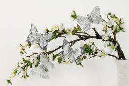 Dekorační motýlci, 8ks - zvětšit obrázek