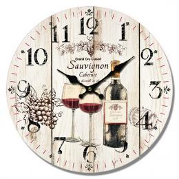 Nástěnné hodiny-sauvignon - zvětšit obrázek