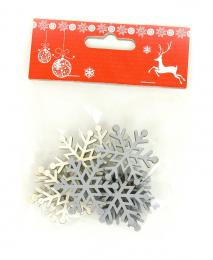 Vánoční vločka,12ks - zvětšit obrázek