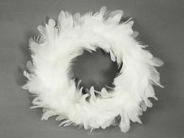 Vánoční věnec-peří - zvětšit obrázek