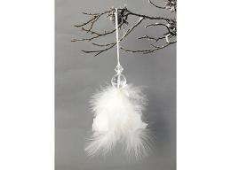 Vánoční andělíček-peří - zvětšit obrázek